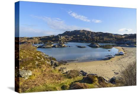 Ardtoe Beach, Ardnamurchan Peninsula, Lochaber, Highlands, Scotland, United Kingdom-Gary Cook-Stretched Canvas Print