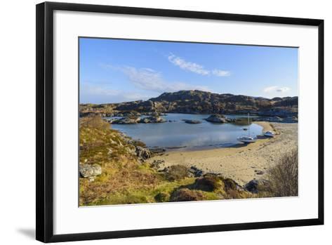 Ardtoe Beach, Ardnamurchan Peninsula, Lochaber, Highlands, Scotland, United Kingdom-Gary Cook-Framed Art Print