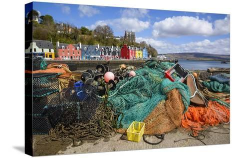 Tobermory Harbour, Isle of Mull, Inner Hebrides, Argyll and Bute, Scotland, United Kingdom-Gary Cook-Stretched Canvas Print