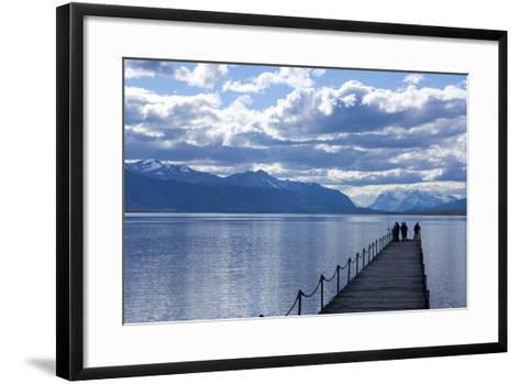 Puerto Natales, Tierra Del Fuego, Chile-Peter Groenendijk-Framed Art Print