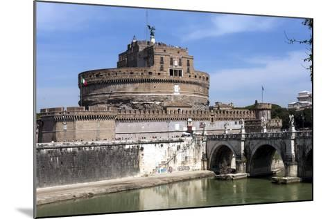 Castel Sant Angelo, Rome, Lazio, Italy-James Emmerson-Mounted Photographic Print