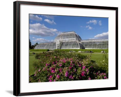 Palm House in Kew Gardens in Summer-Charles Bowman-Framed Art Print