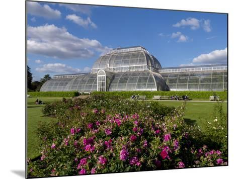 Palm House in Kew Gardens in Summer-Charles Bowman-Mounted Photographic Print