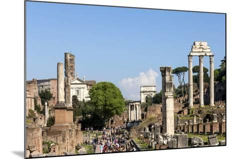 Roman Forum with Temple of Vesta-James Emmerson-Mounted Photographic Print