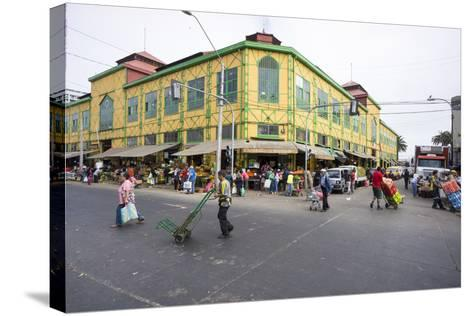 Central Market, Valparaiso, Chile-Peter Groenendijk-Stretched Canvas Print