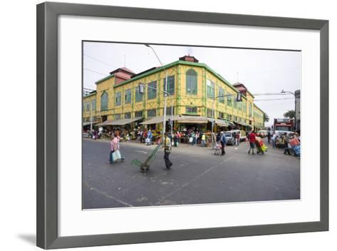 Central Market, Valparaiso, Chile-Peter Groenendijk-Framed Art Print