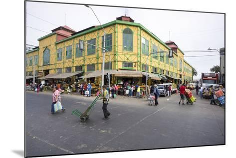 Central Market, Valparaiso, Chile-Peter Groenendijk-Mounted Photographic Print