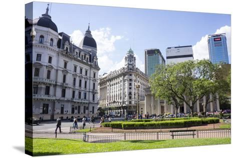 Centre of Buenos Aires, Argentina-Peter Groenendijk-Stretched Canvas Print