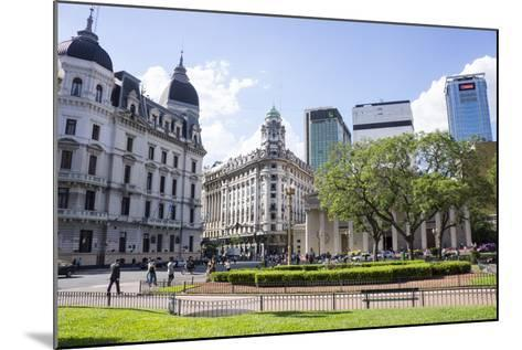 Centre of Buenos Aires, Argentina-Peter Groenendijk-Mounted Photographic Print