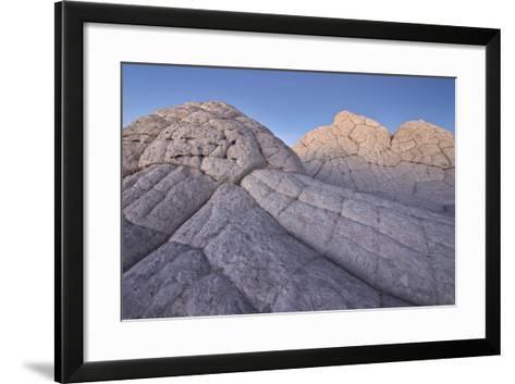 Brain Rock at Dusk, White Pocket, Vermilion Cliffs National Monument-James Hager-Framed Art Print
