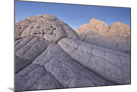 Brain Rock at Dusk, White Pocket, Vermilion Cliffs National Monument-James Hager-Mounted Photographic Print
