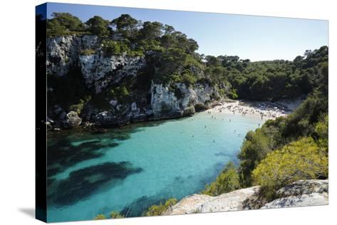 Cala Macarelleta, Near Cala Galdana, South West Coast-Stuart Black-Stretched Canvas Print