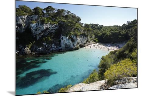 Cala Macarelleta, Near Cala Galdana, South West Coast-Stuart Black-Mounted Photographic Print