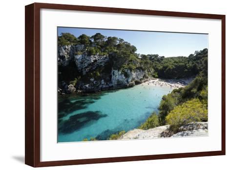 Cala Macarelleta, Near Cala Galdana, South West Coast-Stuart Black-Framed Art Print