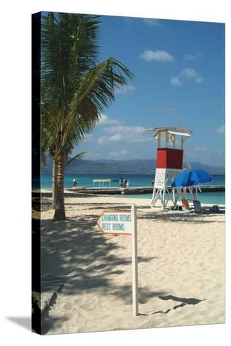Doctor's Cave Beach, Montego Bay, Jamaica, West Indies, Caribbean, Central America-Ethel Davies-Stretched Canvas Print
