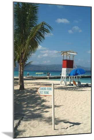 Doctor's Cave Beach, Montego Bay, Jamaica, West Indies, Caribbean, Central America-Ethel Davies-Mounted Photographic Print