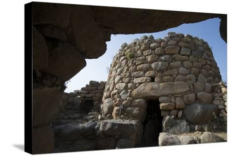 Nuraghe La Prisgiona Archaeological Site, Dating from 1300 Bc, Near Arzachena, Sardinia, Italy-Ethel Davies-Stretched Canvas Print