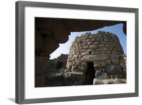Nuraghe La Prisgiona Archaeological Site, Dating from 1300 Bc, Near Arzachena, Sardinia, Italy-Ethel Davies-Framed Art Print