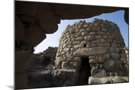 Nuraghe La Prisgiona Archaeological Site, Dating from 1300 Bc, Near Arzachena, Sardinia, Italy-Ethel Davies-Mounted Photographic Print