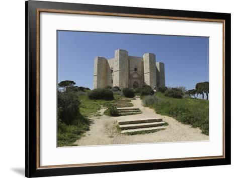 Castel Del Monte, Octagonal Castle, Built for Emperor Frederick Ii in the 1240S, Apulia, Italy-Stuart Forster-Framed Art Print