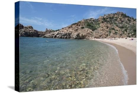 Li Cossi Beach at Costa Paradiso, Sardinia, Italy, Mediterranean-Ethel Davies-Stretched Canvas Print