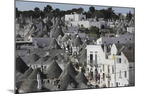 Cone-Roofed Trulli Houses on the Rione Monte District, Alberobello, Apulia, Italy-Stuart Forster-Mounted Photographic Print