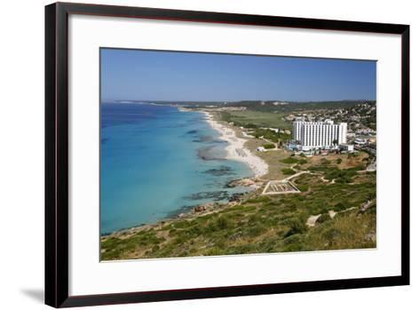 Son Bou, Menorca, Balearic Islands, Spain, Mediterranean-Stuart Black-Framed Art Print