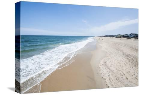 Beach at Nags Head, Outer Banks, North Carolina, United States of America, North America-Michael DeFreitas-Stretched Canvas Print