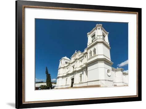 San Pedro Cathedral Built in 1874 on Parque Morazan in This Important Northern Commercial City-Rob Francis-Framed Art Print