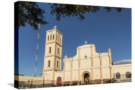 Facade and Bell Tower of the Iglesia San Jose in This Important Northern Commercial City-Rob Francis-Stretched Canvas Print