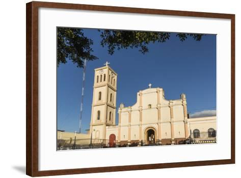 Facade and Bell Tower of the Iglesia San Jose in This Important Northern Commercial City-Rob Francis-Framed Art Print