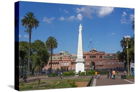 Centre of Buenos Aires, Argentina-Peter Groenendijk-Stretched Canvas Print
