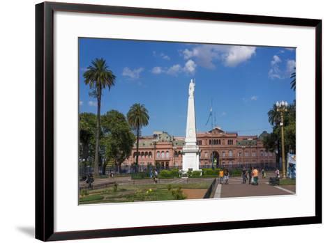 Centre of Buenos Aires, Argentina-Peter Groenendijk-Framed Art Print