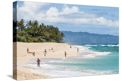Sunset Beach, North Shore, Oahu, Hawaii, United States of America, Pacific-Michael DeFreitas-Stretched Canvas Print