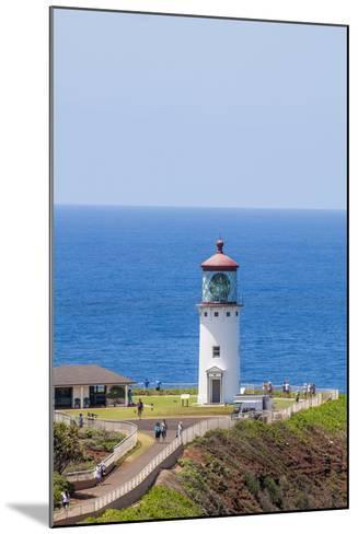 Historic Kilauea Lighthouse on Kilauea Point National Wildlife Refuge-Michael DeFreitas-Mounted Photographic Print