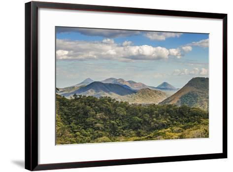 The North West Volcanic Chain-Rob Francis-Framed Art Print