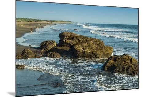 Poneloya Beach, a Popular Little Pacific Coast Surf Resort, West of the Northern City of Leon-Rob Francis-Mounted Photographic Print