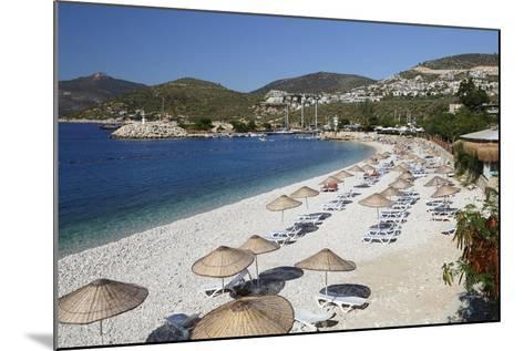 View over Beach, Kalkan, Lycia-Stuart Black-Mounted Photographic Print