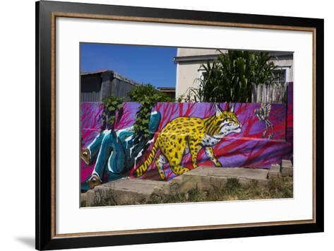 Wonderful Graffiti, Valparaiso, Chile-Peter Groenendijk-Framed Art Print