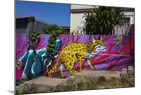 Wonderful Graffiti, Valparaiso, Chile-Peter Groenendijk-Mounted Photographic Print