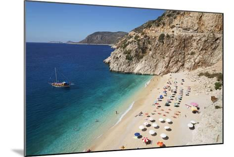 Kaputas Beach, Near Kalkan, Lycia-Stuart Black-Mounted Photographic Print