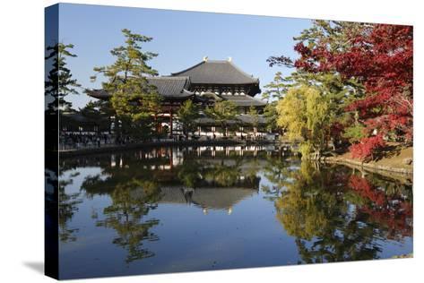 The Buddhist Temple of Topdai-Ji, Nara, Kansai, Japan-Stuart Black-Stretched Canvas Print