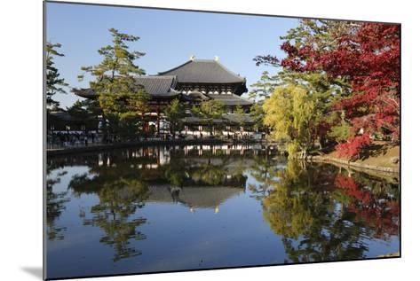 The Buddhist Temple of Topdai-Ji, Nara, Kansai, Japan-Stuart Black-Mounted Photographic Print