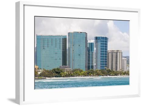 Honolulu, Hawaii, United States of America, Pacific-Michael DeFreitas-Framed Art Print