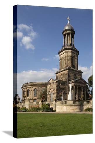 St. Chad's Church, St. Chad's Terrace, Shrewsbury, Shropshire, England, United Kingdom, Europe-Stuart Black-Stretched Canvas Print