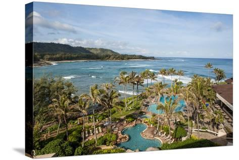 Turtle Bay Resort, North Shore, Oahu, Hawaii, United States of America, Pacific-Michael DeFreitas-Stretched Canvas Print