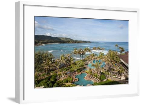 Turtle Bay Resort, North Shore, Oahu, Hawaii, United States of America, Pacific-Michael DeFreitas-Framed Art Print