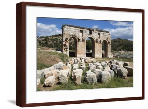 Arch of Mettius Modestus, Patara, Near Kalkan-Stuart Black-Framed Art Print