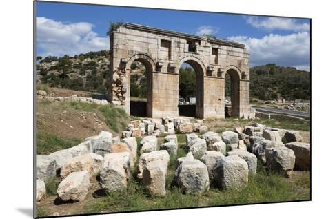 Arch of Mettius Modestus, Patara, Near Kalkan-Stuart Black-Mounted Photographic Print