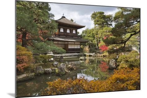 The Silver Pavilion, Buddhist Temple of Ginkaku-Ji, Northern Higashiyama, Kyoto, Japan-Stuart Black-Mounted Photographic Print